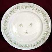 "Johann Haviland Bavaria Germany "" Forever Spring"" Dinner Plates"