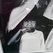 "Joyce Webb Signed & Numbered Black Child Art Print "" Sara"""
