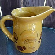 SALE Los Angeles Potteries California USA Vintage Mid Century 48 Oz Pitcher ~ Jug