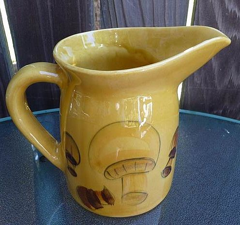 Los Angeles Potteries California USA Vintage Mid Century 48 Oz Pitcher ~ Jug
