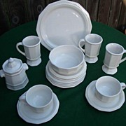 Vintage Pfaltzgraff Heritage Dinnerware 16 Pieces Plus