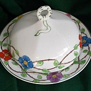R W Grindley & Co. England Lidded Butter ~ Cheese  Dish 1920s~1930's The Victory
