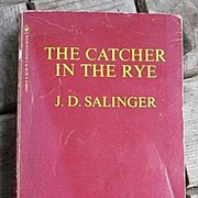 The Catcher In The Rye J.D. Salinger Vintage 1981 PB Bantam Books