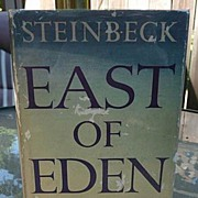 John Steinbeck Nobel Winner Vintage Classic1952 East Of Eden 1st Edition 1st Printing With ...
