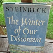 John Steinbeck Vintage 1961 The Winter Of Our Discontent 1st Edition~2nd Printing Viking Press