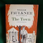 "William Faulkner Vintage 1957 ""the Town"" 1st Edition~ 2nd Printing Random House"