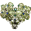 1900-1910- Gorgeous open work brooch