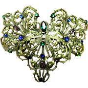 SALE 1900-1910- Gorgeous open work brooch