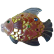 "Jeweled lucite ""Fish"" pin"
