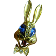 1940's- unsigned Karu- New York- Bugs bunny Pin