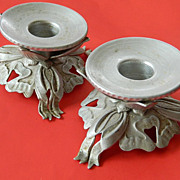 Rodney Kent- aluminum candle holders