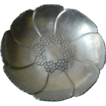 Hand wrought- Aluminum -bowl