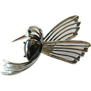 Large- slatted- Humming bird Pin