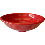 Wonderful- Big red bowl- Fiesta ware-H.Laughlin co.