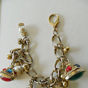 Sparkling  fun to wear- charm bracelet