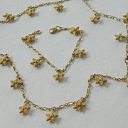 Necklace and bracelet- Stars