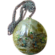 Persian medallion pendant- Necklace with Chain