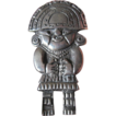 Heavy silver- Aztec warrior -Pin