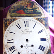 Tall Case Clock Dial by James Donking of Liverpool