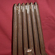 Tin Six Tube Candle Mold