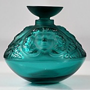 "SOLD Lalique ""Psyche"" Perfume Bottle"