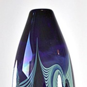 SOLD Randy Strong Pulled Pattern Vase