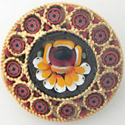 Red Mosaic Pin