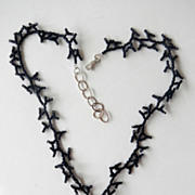 Sea Witch Necklace In Black