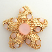 SALE Pink Moonglow Starfish Pin