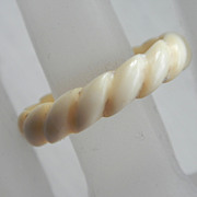 Carved Bone Ring