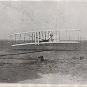 Associated Press Photograph - Wright Brothers at Kitty Hawk, NC
