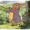 Beatrix Potter - Old Mr. Bouncer : Production Animation Cel