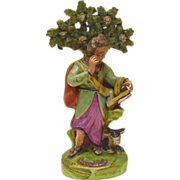 Antique Staffordshire Figurine of St Luke