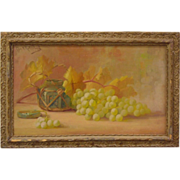 Original Oil Painting of Still Life by California Artist