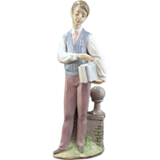 Lladro Figurine, Hebrew Scholar - Retired of a Young Man