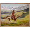 Native American Indian, Original Oil Painting by Gregory Perillo