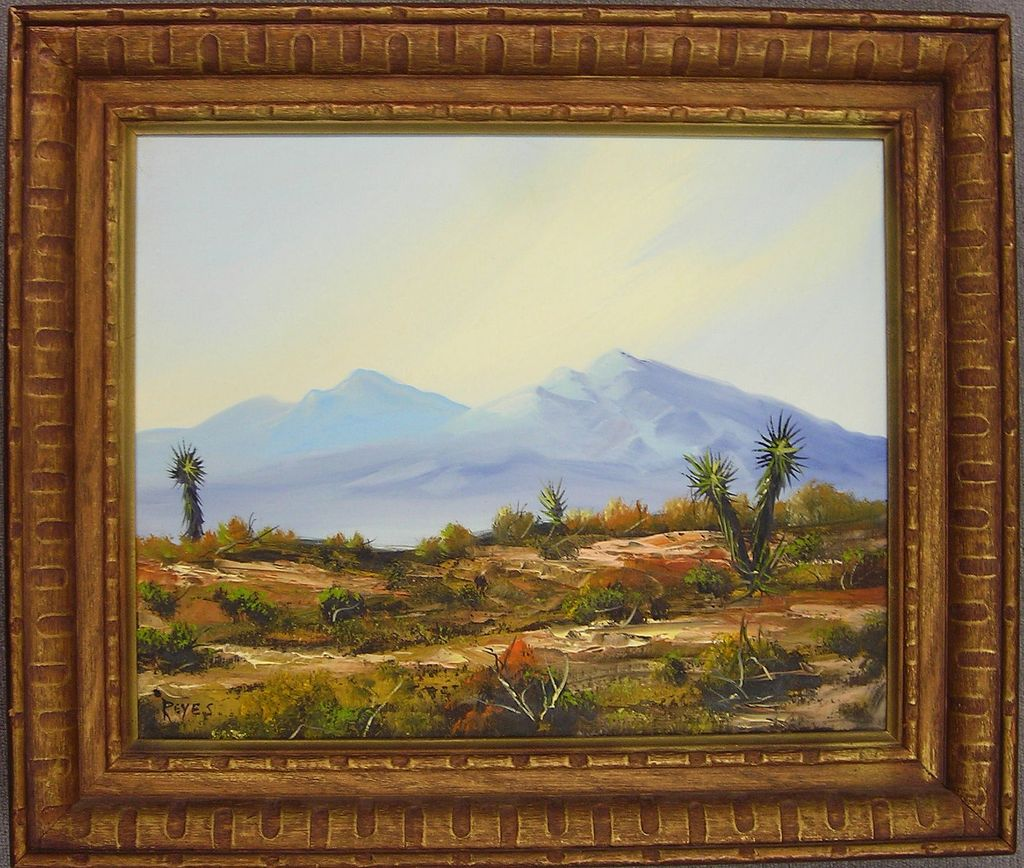Original Oil Painting of Southwestern Landscape - Reyes