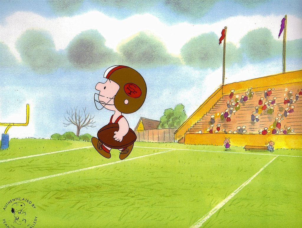 Charlie Brown - Production Animation Cel by UFS Inc