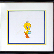 Tweety Bird Production Animation Cel by Warner Bros