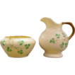 Belleek - Sugar & Creamer  - Circa 1926 - 1946