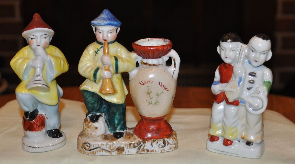 Occupied Japan Musical Figurines