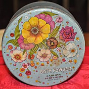 Bath Powder Tin - Carlova Perfumers