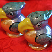 Vintage Toucan Salt & Pepper Shakers