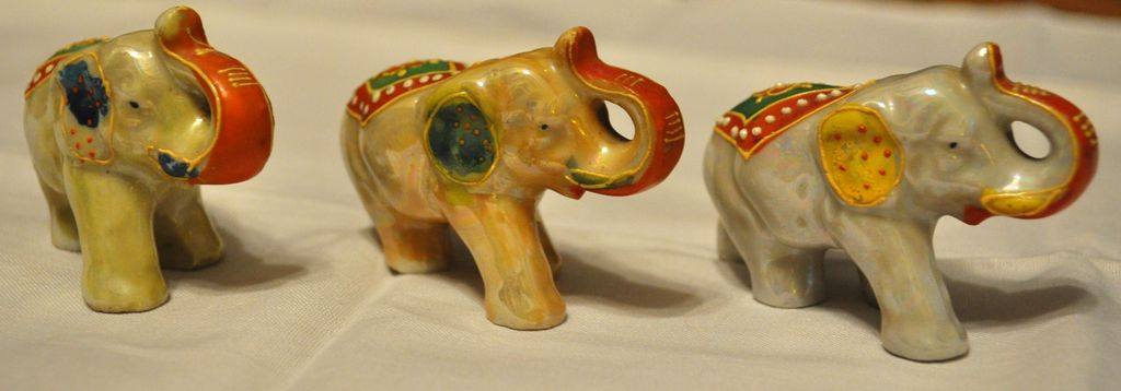 Three Small Elephants