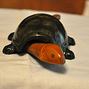 Metal Turtle Nodder Toy