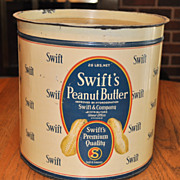 Swift Peanut Butter Tin
