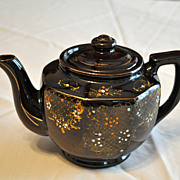SOLD Brown Teapot