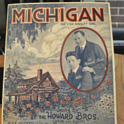 Michigan Sheet Music - Howard Brothers