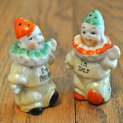 Clown Salt-Pepper Shakers