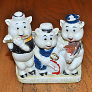 Three Little Pigs Toothbrush Holder